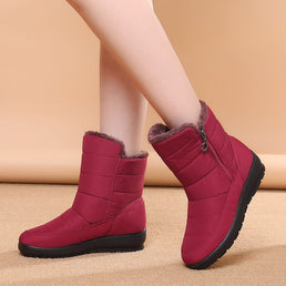 [#1 TRENDING WINTER 2021] Women's Waterproof Non-Slip Warm Boots