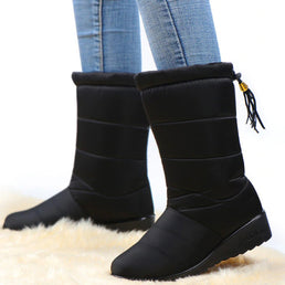 Women's Winter Waterproof Boots ( HOT SALE !!!-60% OFF For a Limited Time )