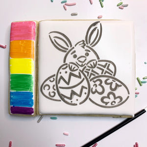 Easter Bunny Paint Set
