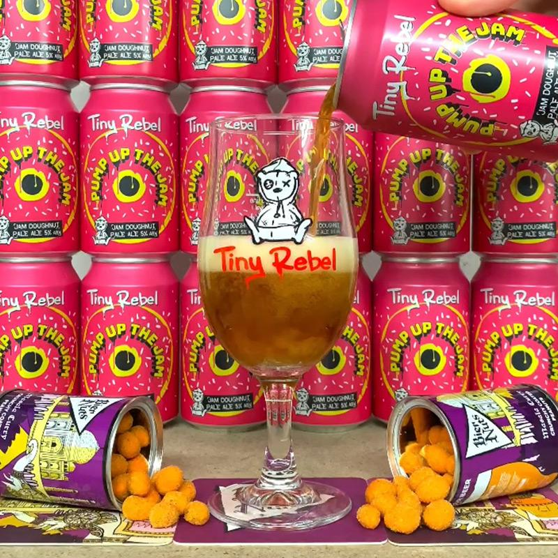 Bier Nuts x Tiny Rebel: Beer Care Package (Delivery 3rd June) - Bier Nuts