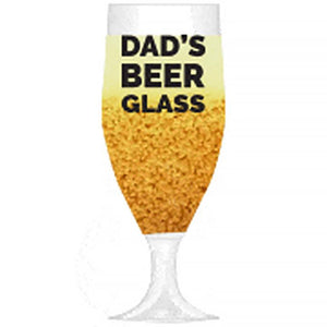 Father's Day Glass - Bier Nuts