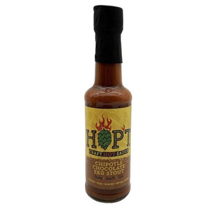 Hop't Craft Hot Sauce Chipotle Stout Flavour - Bier Nuts