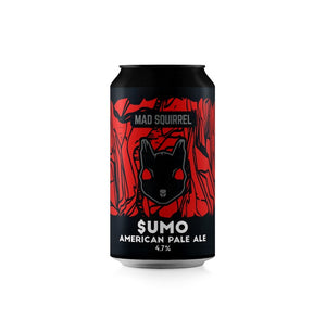 Mad Squirrel $UMO American Pale Ale 4.7% - 4 Pack - Bier Nuts
