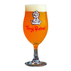 Premium Tiny Rebel Beer Glass - Bier Nuts