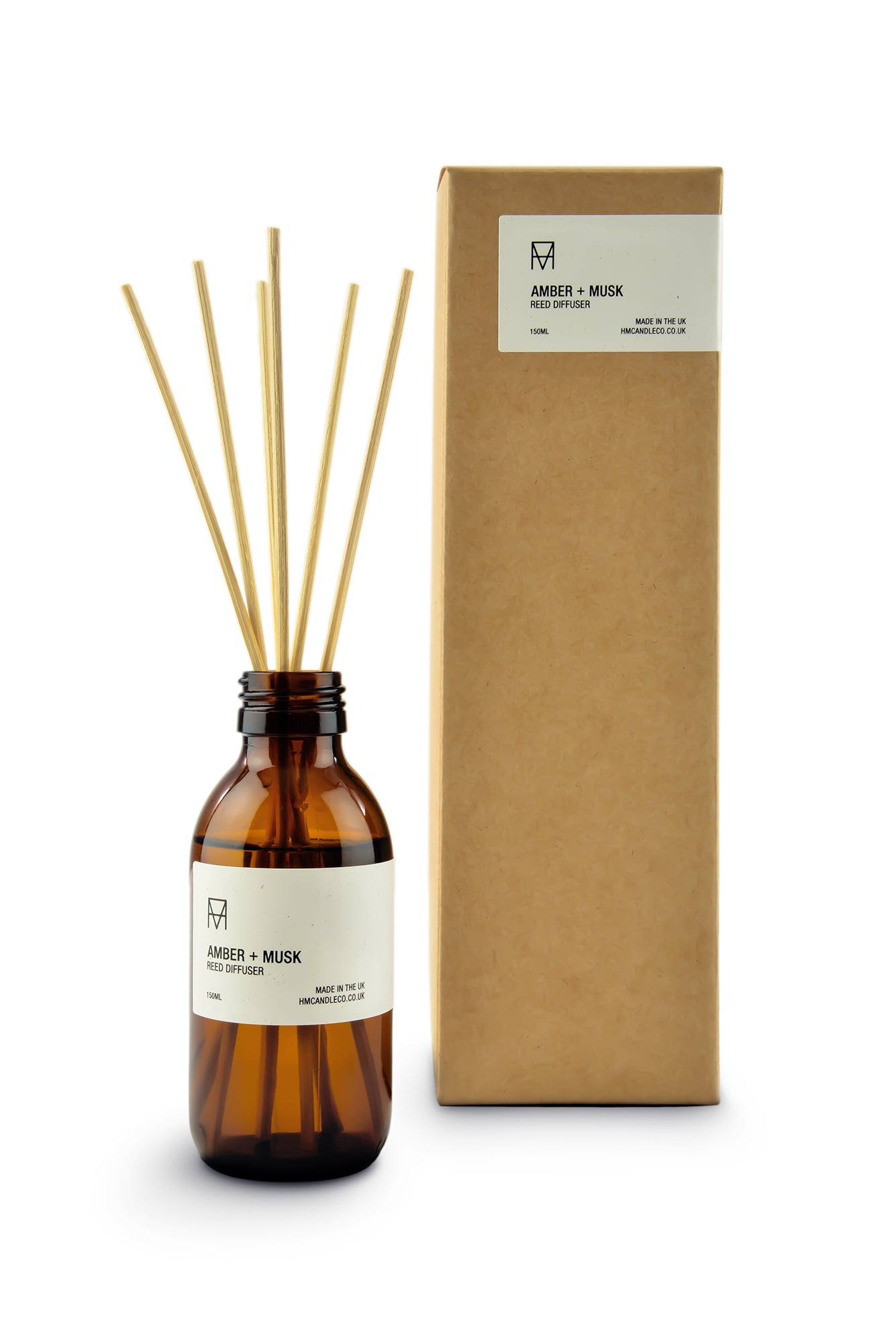 Amber + Musk Reed Diffuser