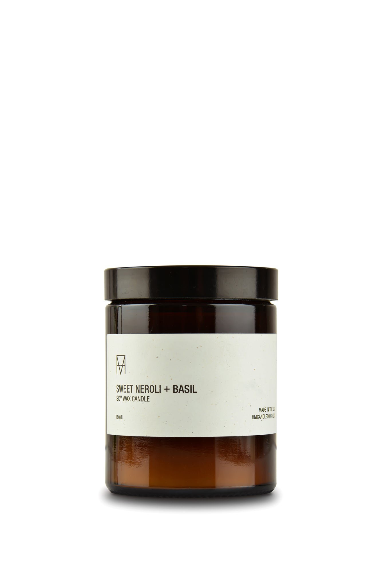 Sweet Neroli + Basil Soy Wax Candle
