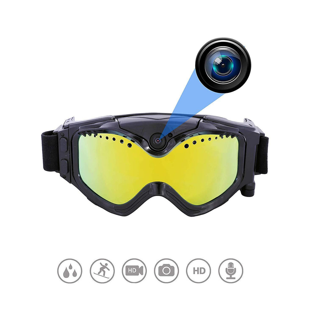 Wide-Angle Full HD 1080P Camera Goggles