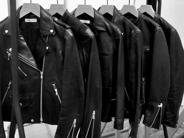 Bespoke leather biker jackets
