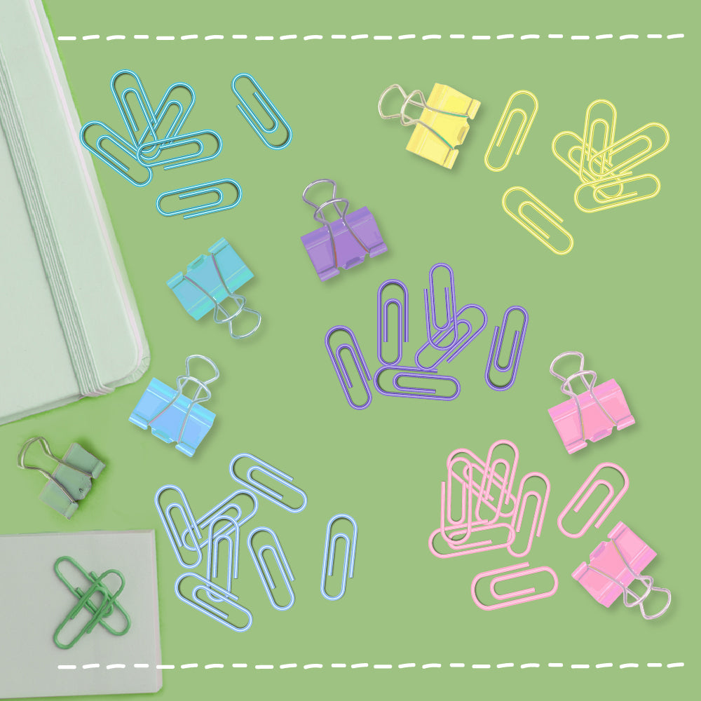 paper clips from poooliprint