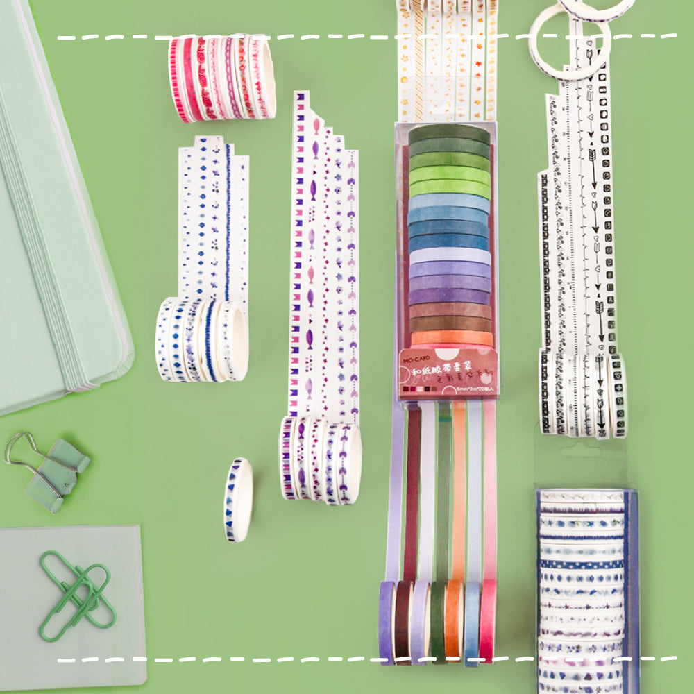 poooliprint washi tape