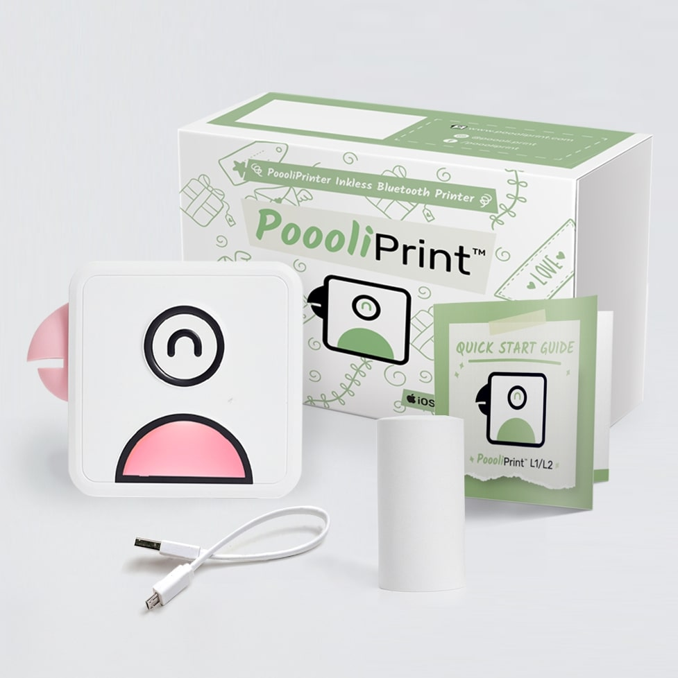 In the box of Poooli L1 pink