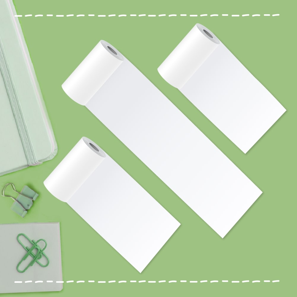 poooliprint white thermal paper rolls
