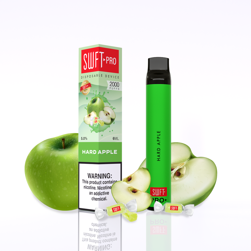 SWFT Pro Hard Apple Disposable Vape Device
