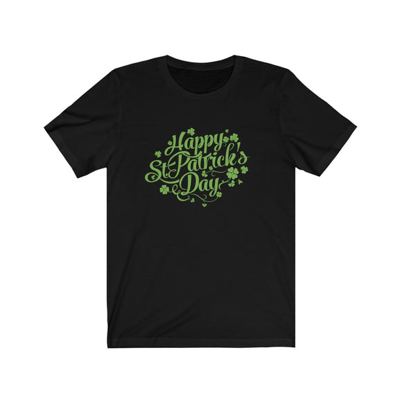 Four Leaf Clover St. Patrick's Day Shirt Unisex Jersey Short Sleeve Tee - FireCreekMercantile