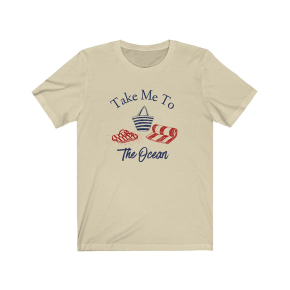 Take Me To The Ocean Unisex Jersey Short Sleeve Tee - FireCreekMercantile