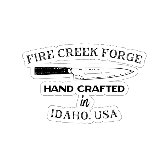 Fire Creek Forge Hand Crafted In Idaho Sticker Kiss-Cut Stickers - FireCreekMercantile