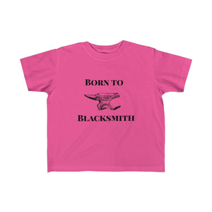 Born To Blacksmith Kid's Fine Jersey Tee - FireCreekMercantile