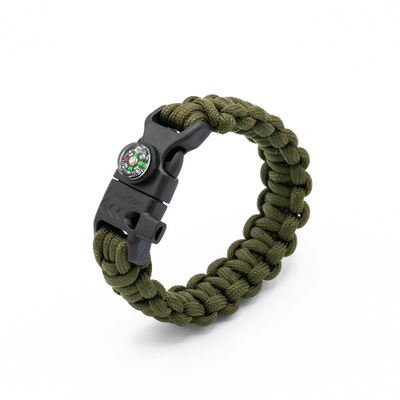 5 in 1 Paracord Bracelet (Army Green)