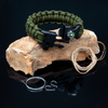 10 in 1 Paracord Bracelet (Green)