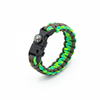 5 in 1 Paracord Bracelet (Neon Green)