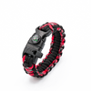 5 in 1 Paracord Bracelet (Red)