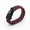 5 in 1 Paracord Bracelet (Red Camo)