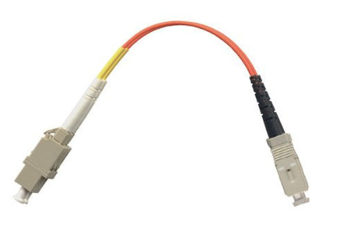 1FT LC Female to SC Male Adapter Cable - Multimode (50/125) - Duplex