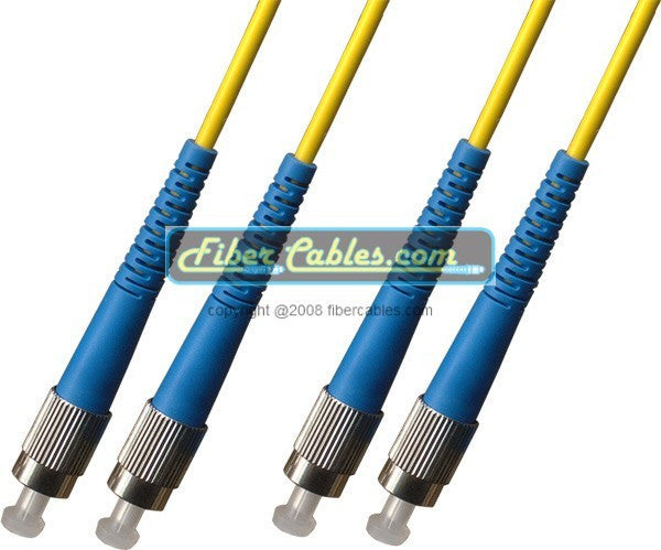 OS2 - Singlemode (9/125) - Duplex - Fiber Optic Cable - FC to FC