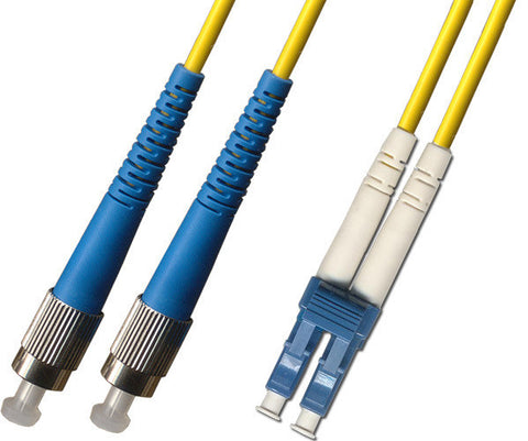 OS2 - Singlemode (9/125) - Duplex - Fiber Optic Cable - FC to LC