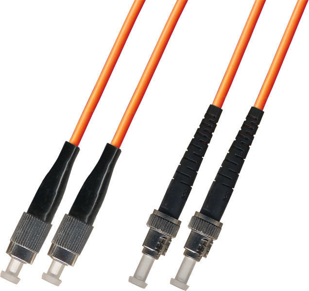 OM2 - Multimode (50/125) - Duplex - Fiber Optic Cable - FC to ST