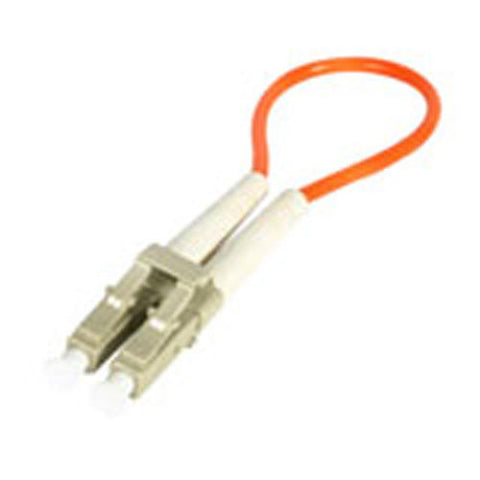 LC FIBER OPTIC MULTIMODE 62.5/125 LOOPBACK ADAPTER NEW