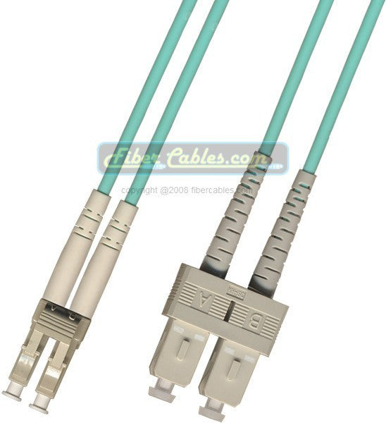 OM3 - 10Gb Multimode (50/125) - Duplex - Fiber Optic Cable - LC to SC