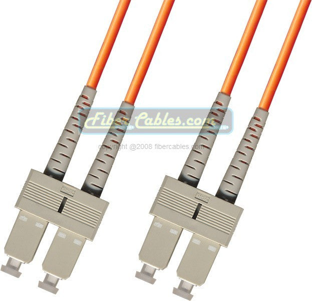 OM2 - Multimode (50/125) - Duplex - Fiber Optic Cable - SC to SC