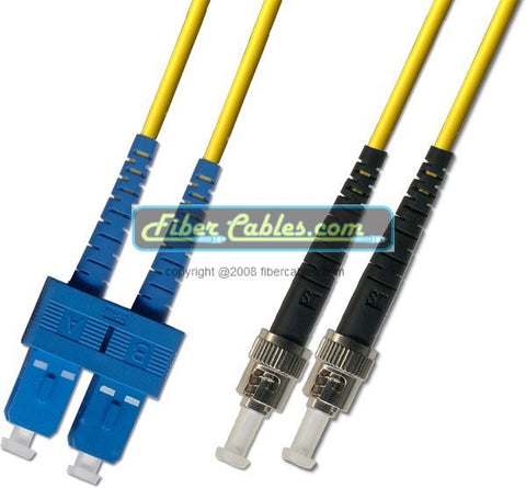 OS2 - Singlemode (9/125) - Duplex - Fiber Optic Cable - SC to ST
