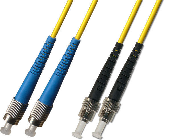 OS2 - Singlemode (9/125) - Duplex - Fiber Optic Cable - FC to ST