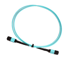 OM3 - 10Gb Multimode (50/125) - 12 Strand - Fiber Optic Cable - MPO to MPO