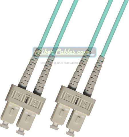 OM3 - 10Gb Multimode (50/125) - Duplex - Fiber Optic Cable - SC to SC