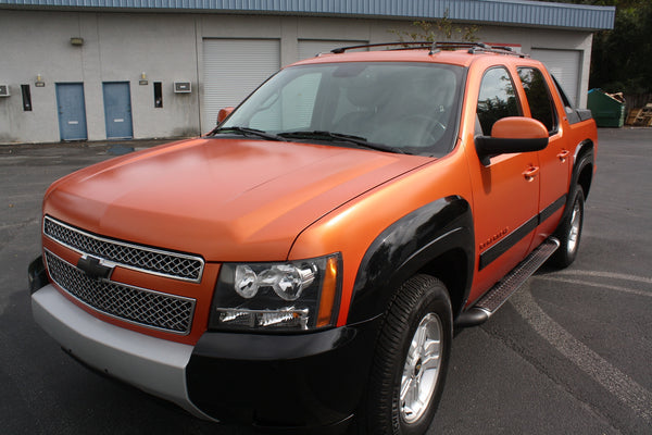 Kandypearls Plastidip Pearls Burnt Orange Chevy Avalanche