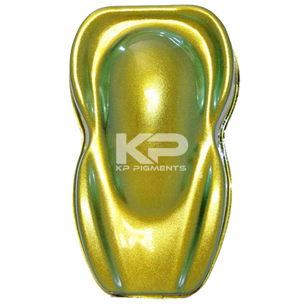 Lemon-Lime ColorShift Pearl, Candy Pearl - Pearls For Dip, KP Pigments™ - 1