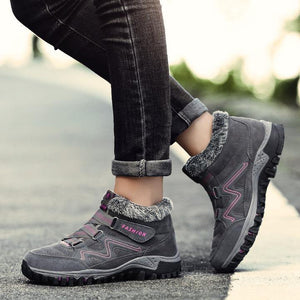 FASHION - COMFY WINTER SNOW ANKLE BOOTS WOMEN