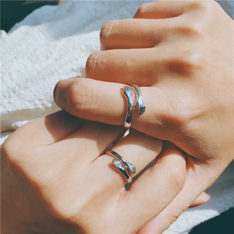 Couple Hug Ring