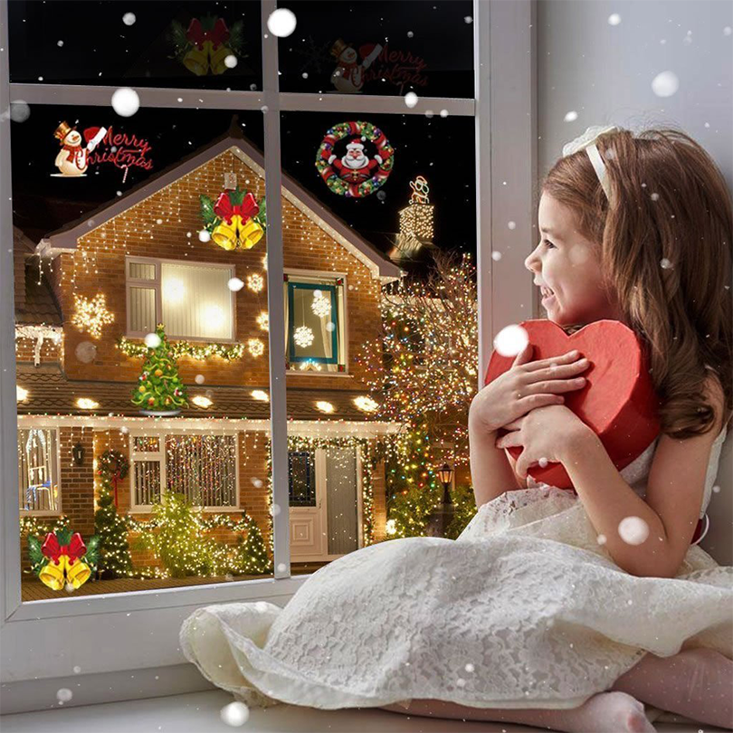 Christmas Halloween Home Decoration Projector Lights 12 Pattern-Free Shipping