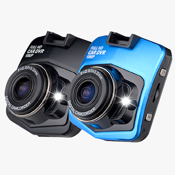 (Last Day - 70% Off) CAR GT300 Full 1080p HD DVR Dash Camera With Night Vision - Black or Blue
