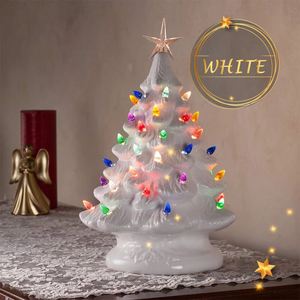 LED Ceramic Christmas Tree