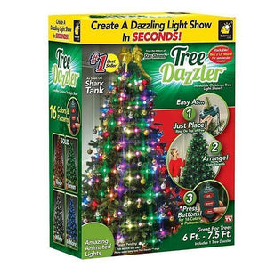 50% OFF-Christmas Tree LED String Lights
