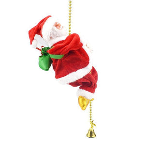 Santa Claus Climbs The Rope (50% Off - Shop Now)