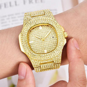 Bling Bling Fully Iced Out Watch