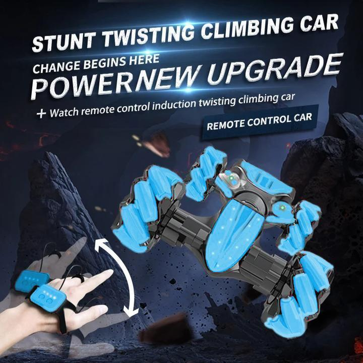 Christmas Pre-Sale!-Gesture Control Double-Sided Stunt Car