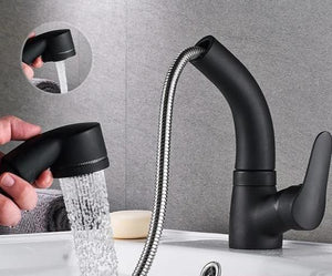 Height Adjustable Pull-out Sink Tap (Order Today and Save 50%)