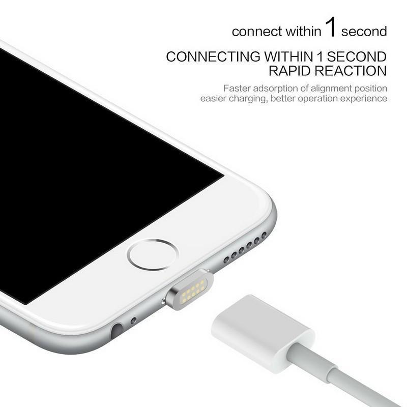 (75% Off - Today Only) 2.4A High Speed Charging Magnetic Cable for iOS & Android Devices